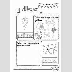 Colour Worksheets