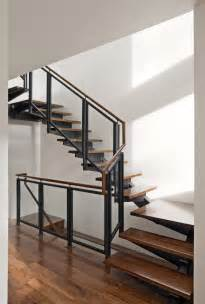 home interior stairs regal glass banister stairs with black iron frame as inspiring modern staircase with wooden step