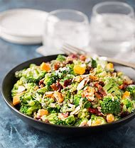 Broccoli Cranberry Almond Salad