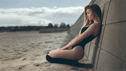 Ftopx Lingerie Pretty Beaches Knee 4k Uhd