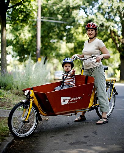 Bicycle with Baby Seat