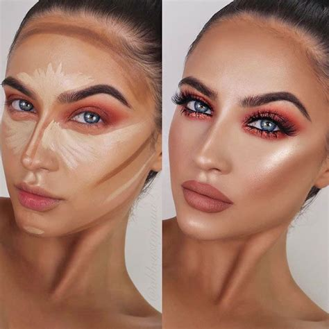 makeup contouring rules     urban woman