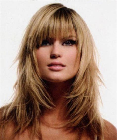 best haircuts for heavy women with fine hair and round