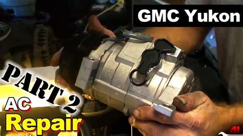 gmc yukon ac compressor  accumulator part