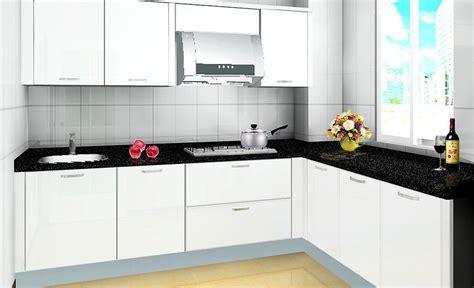 modular kitchen designs black and white tips asas masuk rumah baru pasang kabinet dapur 9774