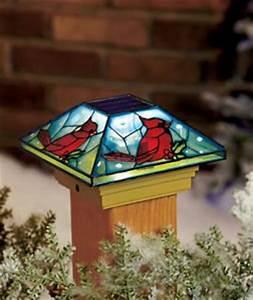 Amazon Cardinal Solar Post Cap Light Deck Porch