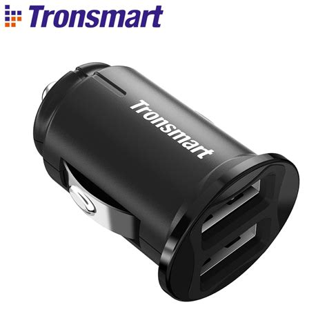 usb ladegerät auto tronsmart c24 two ports usb car charger voltiq car charger phone fast charger usb adapter