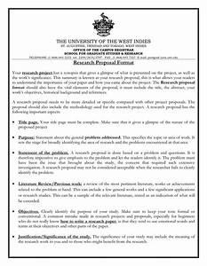 Academic Research Proposal Format Writing Short Essays University