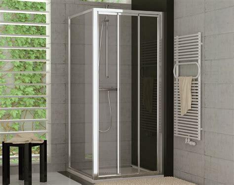 Dusche Schiebetür 3teilig Seitenwand Ab 70 X 70 X 190 Cm
