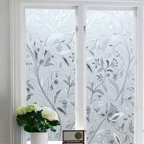 decorative static cling window bloss no glue static cling window decorative pattern