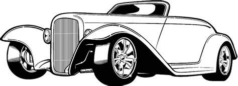 Classic Car Silhouette Clip Art (8 Image)