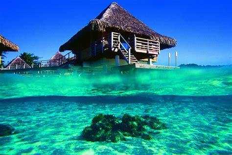 intercontinental bora bora le moana resort overwater