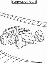 Coloring Pages Racing Race Printable sketch template