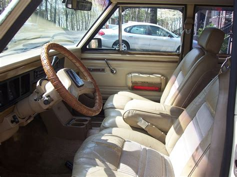 1991 jeep wagoneer interior 1989 jeep grand wagoneer pictures cargurus