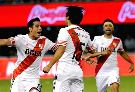 Argentinean Soccer - Players of River Plate celebrate ...