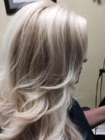 Platinum Blonde Hair with Highlights
