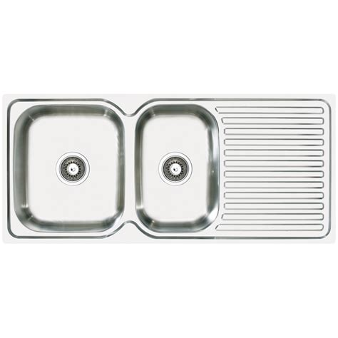 abey kitchen sinks abey stainless steel 1 75 bowl single drainer lhb 1138