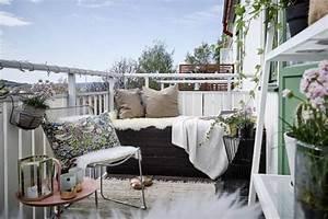 Balkonmöbel Für Schmalen Balkon : 1001 ideen zum thema stilvollen kleinen balkon gestalten ~ Michelbontemps.com Haus und Dekorationen