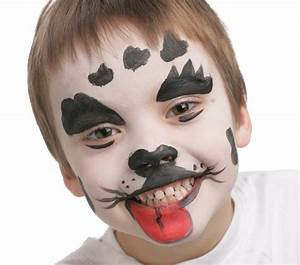 Maquillage Garcon Halloween : dalmatien grim 39 tout maquillage l 39 eau pour enfants ~ Farleysfitness.com Idées de Décoration
