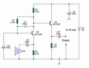 Speaker Microphone Circuit