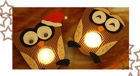 teelichthalter selber basteln weihnachten bastel adventskalender