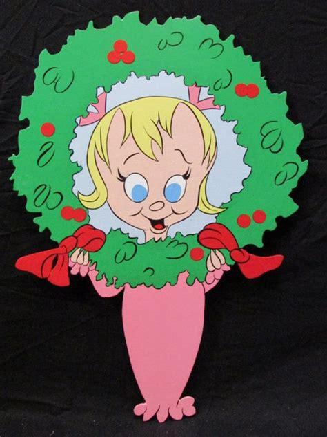 cindy lou whoholiday wreath christmas