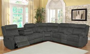 Grey reclining sectional sectional sofa sets for Sectional sofa sets online