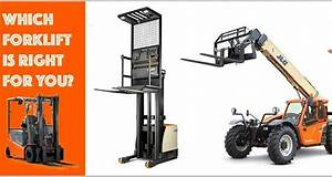 What Types Of Forklifts Can Fufill Your Needs  Complete