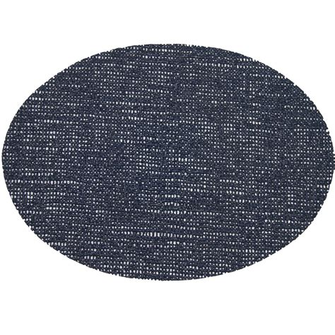 oval placemats fishnet placemats 18 x 13 oval placemat navy shopperschoice com