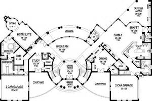 6 bedroom house plans luxury luxury style house plans 10639 square foot home 3 story 6 bedroom and 7 bath 4 garage