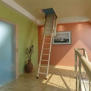 Echelle Pour Escalier : escalier de combles infos et prix ooreka ~ Melissatoandfro.com Idées de Décoration