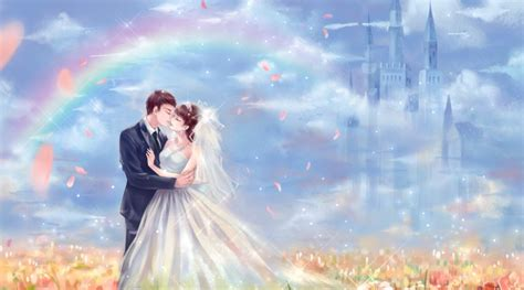 Anime Wedding Wallpaper - weddings with a touch of anime anime