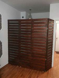 10 ideas about pallet room on pinterest diy bed With need room divider best room divider ideas