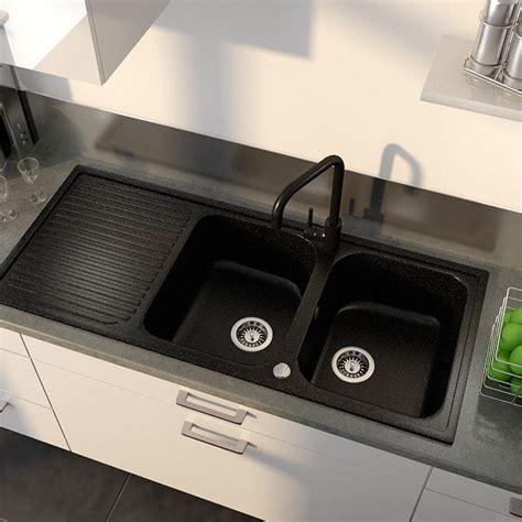 evier cuisine noir 2 bacs evier cuisine granit noir 2 bacs cuisine id 233 es de