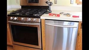 Kitchen Update Part 6 Samsung Dishwasher Install  It Doesn U0026 39 T Match The Stove