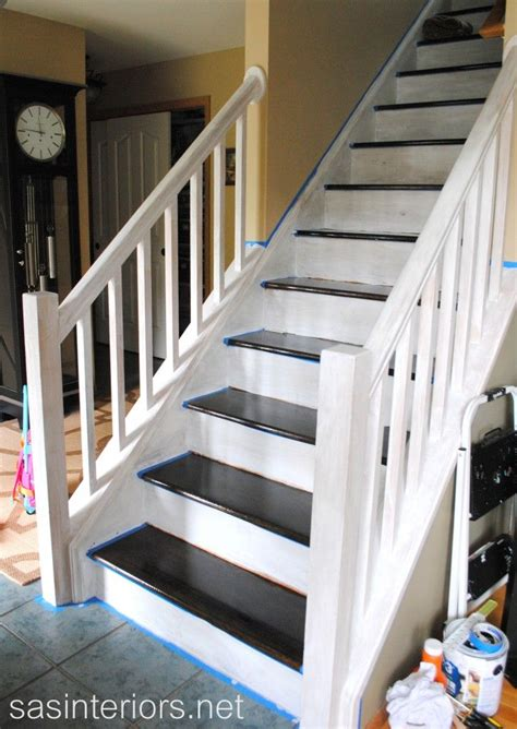 Stripping Paint From Wood Banisters by Best 25 Decorating Staircase Ideas On Picture