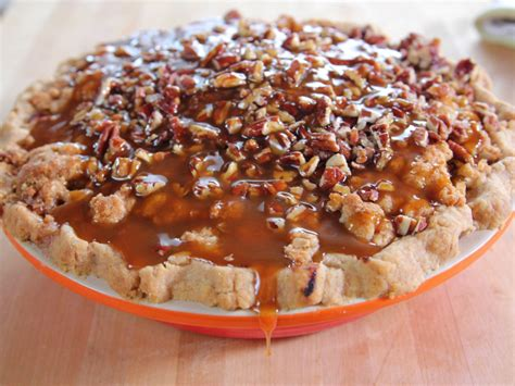 Pumpkin Pie With Pecan Streusel Topping by Caramel Apple Pie Recipe Dishmaps