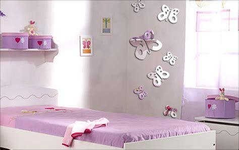 d oration papillon chambre fille deco chambre bebe fille papillon