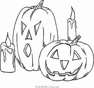 Dessin Qui Fait Tres Peur : coloriage coloriage halloween gratuit halloween ~ Carolinahurricanesstore.com Idées de Décoration