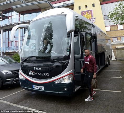 West Ham Arrive For Last Ever Game At Upton Park Daily