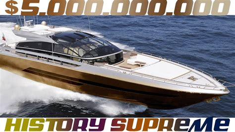 history supreme yacht history supreme 5 billion dollars yacht the most