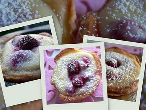 recette de tartelettes ricotta framboises