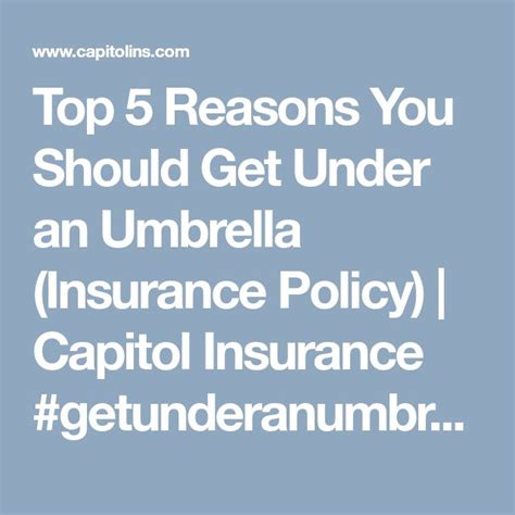 Customer service these days, most carriers' basic customer service includes 24/7 claims reporting and extended business hours. Top 5 Reasons You Should Get Under an Umbrella (Insurance Policy) (With images) | Umbrella ...