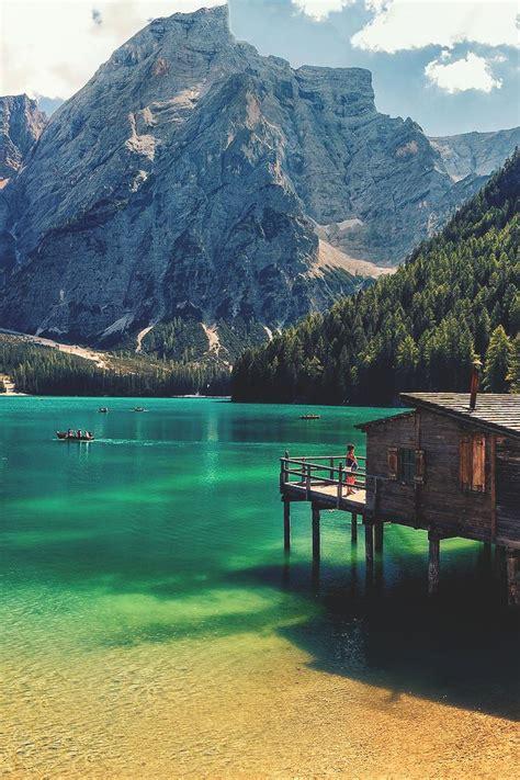17 Best Images About Lac De Braies Italie On Pinterest
