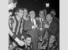 Champions League l'Inter vinse la prima Coppa dei Campioni
