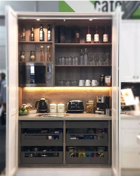 wine kitchen cabinet appliance cupboard coffee machine etc bars and hutches 1115