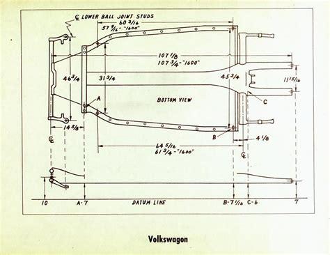 vw floor pan shortening thesamba hbb road view topic baja bugs for