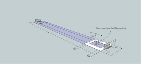 Horseshoe Pit Dimensions Backyard - official horseshoe pit dimensions diagram how to build a