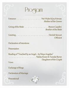 utorrentpartners blog With wedding reception program ideas