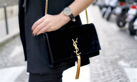 saint laurent monogram tassel bag beautylabnl